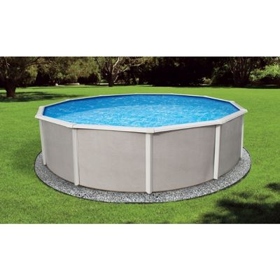 "15' Round 48"" Belize Steel Pool NB2502"