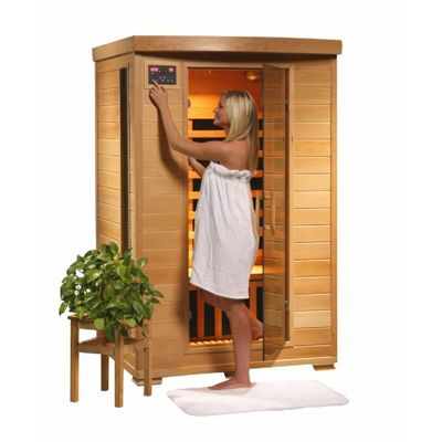 Hemlock Coronado 2 Person FAR Infrared Sauna with Carbon Heaters SA2409