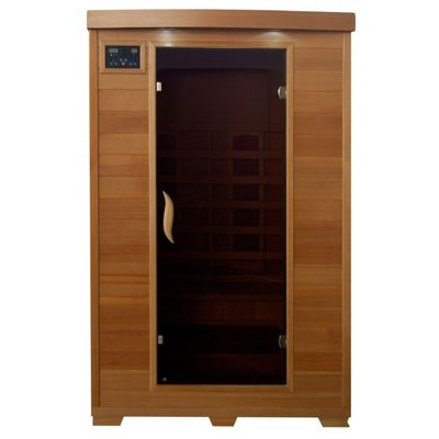 Hemlock Coronado 2 Person FAR Infrared Sauna with Ceramic Heaters SA2406