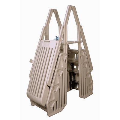 Neptune A-Frame Above Ground Pool Entry System Taupe NE115T