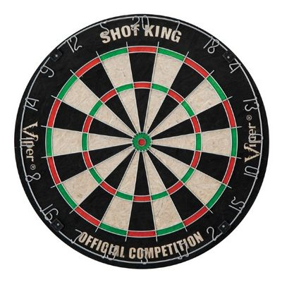 Shot King Sisal Dartboard with Darts NG1043