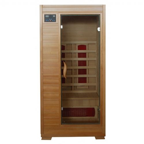 Hemlock Buena Vista 1 Person FAR Infrared Sauna with Ceramic Heaters SA2400