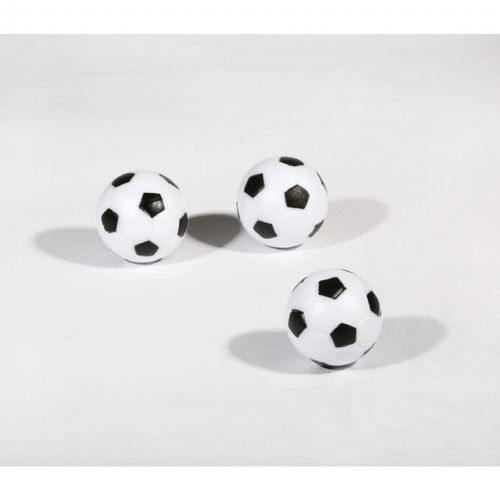 Three-Pack Black and White Foosballs NG1024