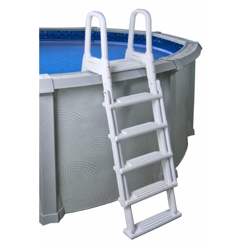 A Frame Flip Up Ladder For Above Ground Pools