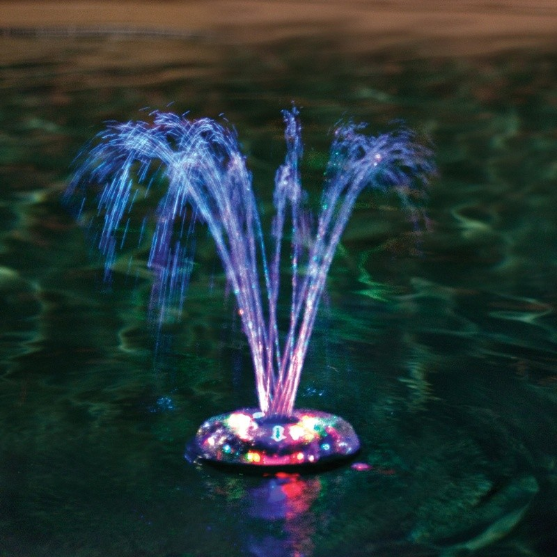Pool Fountain Dancing Colors