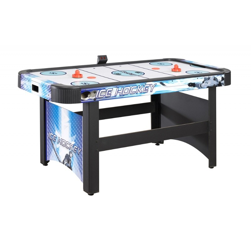 Face-off 5 Foot Air Hockey Table with Electronic Scoring