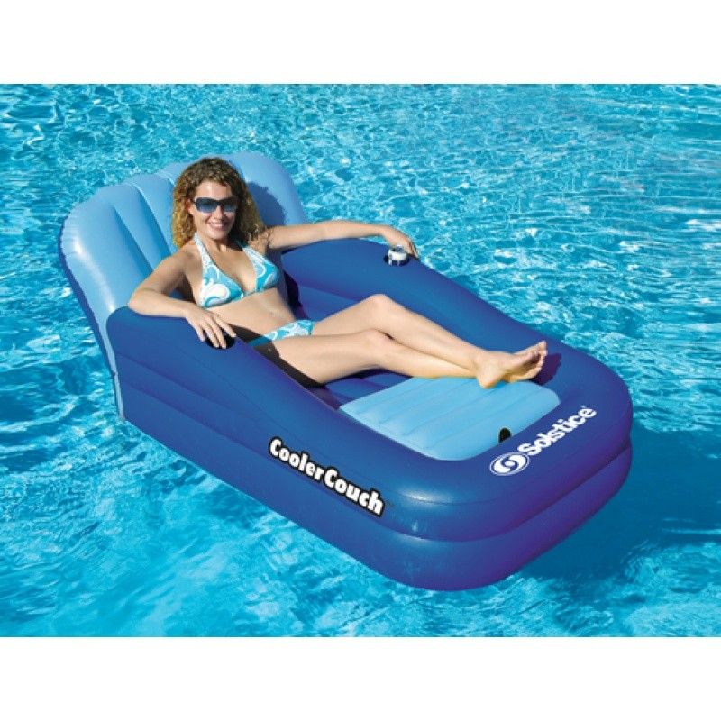 Large Inflatable Rafts: Inflatable Cooler Couch Pool Float