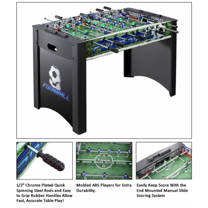 Playoff Soccer Foosball Table 48 inch