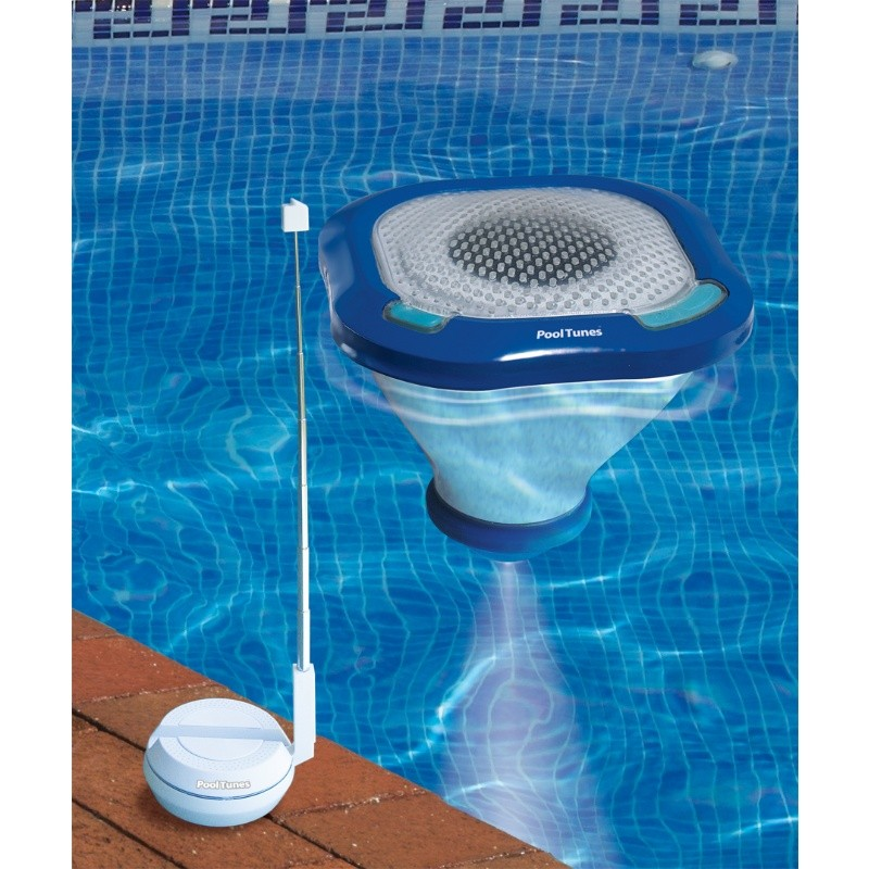 Pool Tunes Floating Wireless Speaker and Pool Light