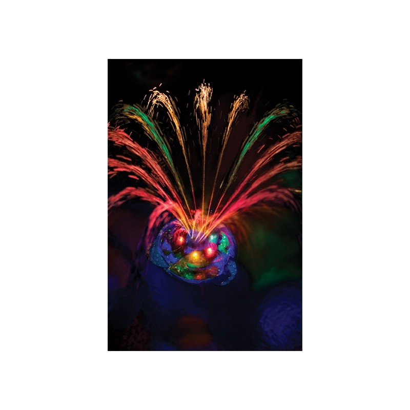 Pool Decor, Floating Lights, Pond Decor: Small Underwater Light Show and Fountain