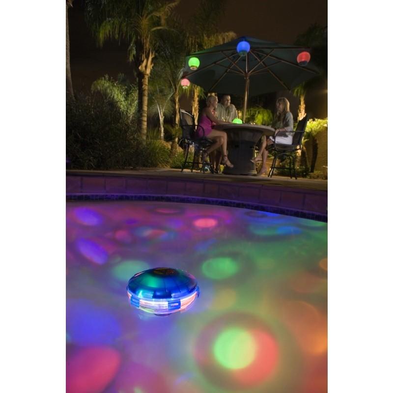 Starship underwater pool light show for Pool light show waikiki