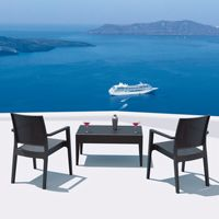 Wickerlook patio furniture miami beach collection