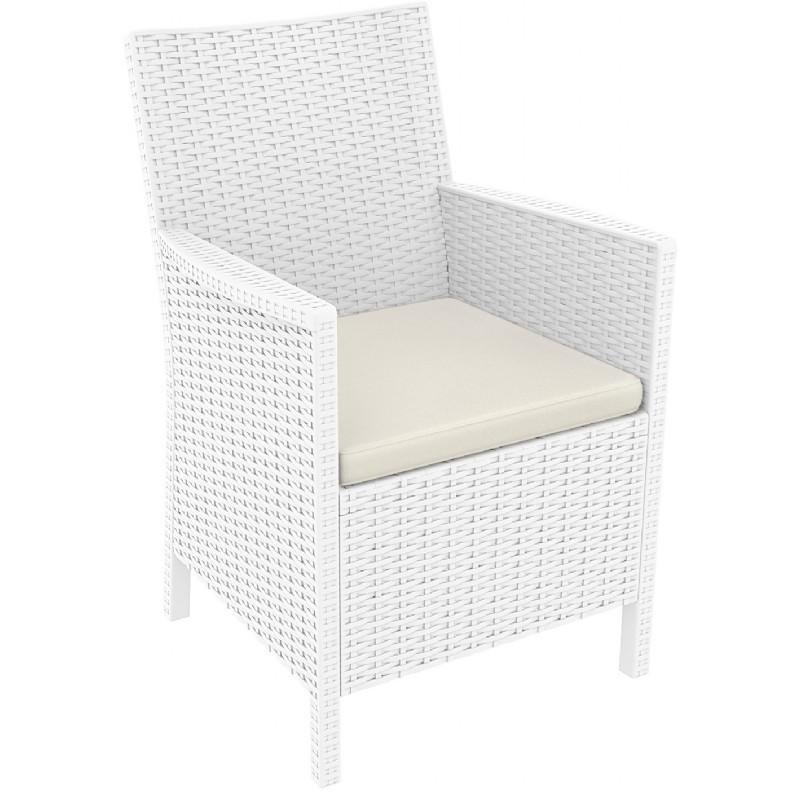 california wickerlook resin patio chair white isp806 wh