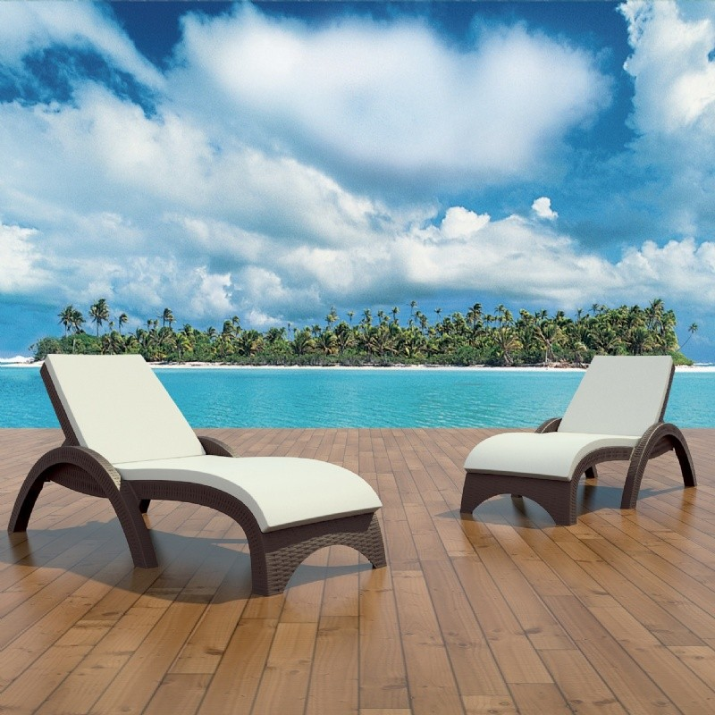 Miami Chaise Cushion Solid