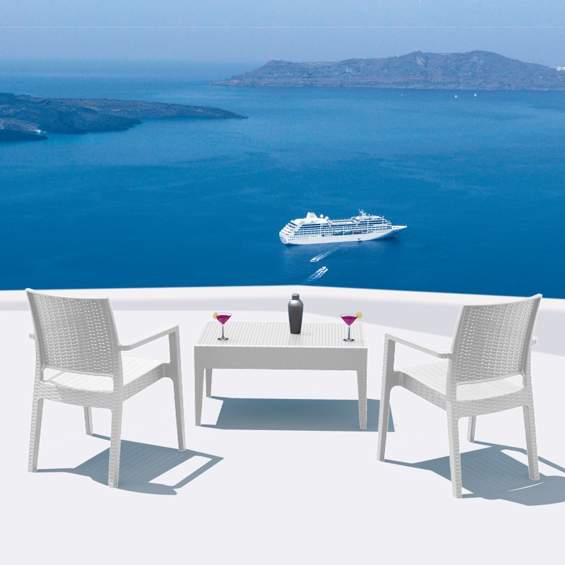 Outdoor Furniture: European: WickerLook: Miami Beach Collection