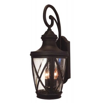 Special Lite Claremont F-3861-ORB Large Top Mount Exterior Wall Light Fixture F-3861-ORB