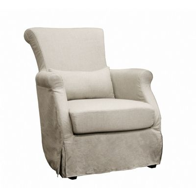 Carradine Accent Club Chair Cream BX-A-620-CW-018