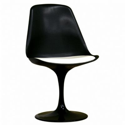 Ergonomic Modern Plastic Side Chair Black BX-DC-211B-BLACK
