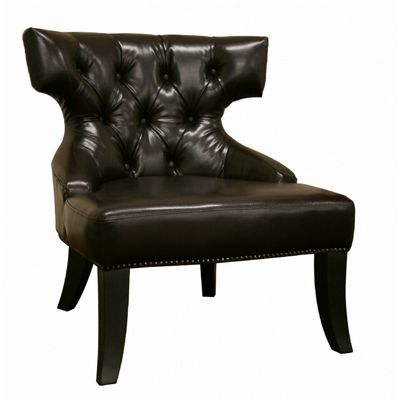 Taft Leather Club Chair Dark Brown BX-A-172-077