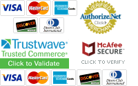 Shop with confidence in our secure site.